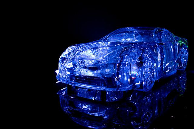 Lexus LFA Ice Sculpture By Hardcore100, Via Flickr