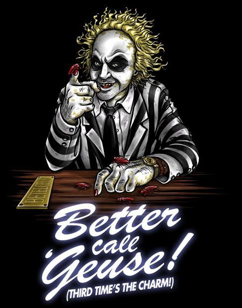 "Better Call Geuse by Punksthetic      Poster (19.75"" W x 25.75"" H)     Canvas (18"" W x 24"" H x 2"" D)     Wall Mural (6' W x 8.5' H)"
