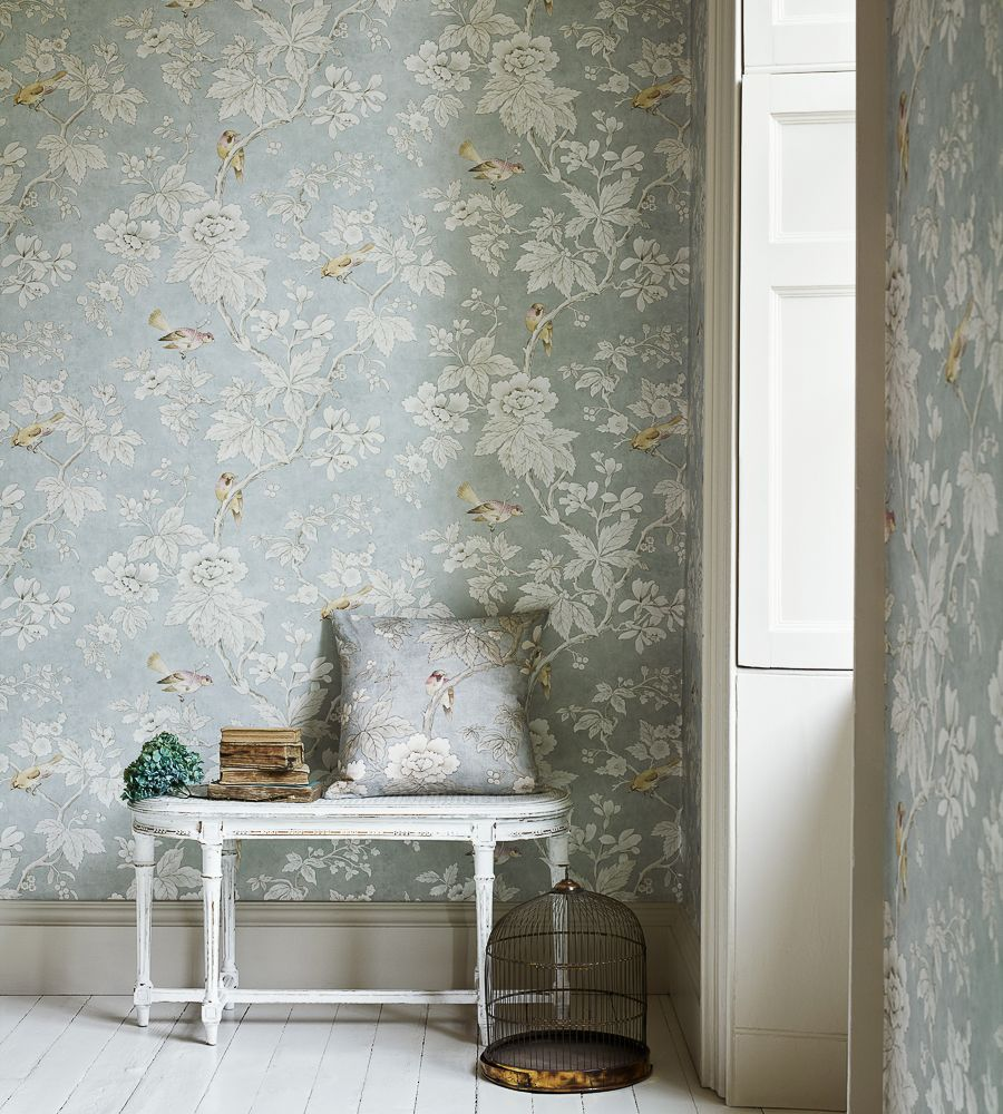Chiswick Grove Wallpaper By Sanderson