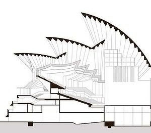 sydney opera house section - Google Search | Kiến trúc