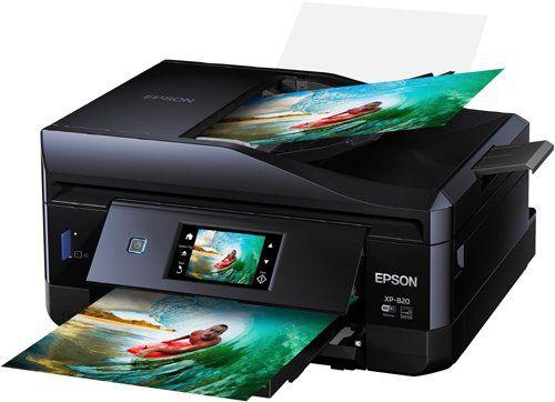 Epson Expression Premium XP-820 Photo Printer $129 99