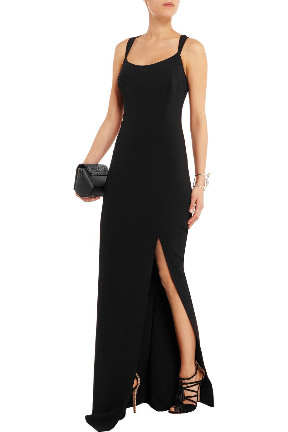 Michael Kors CollectionStretch-wool gownfront