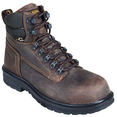 Men's Caterpillar Second Shift Steel Toe Work Boot, Size: 14 M, Black Seminole