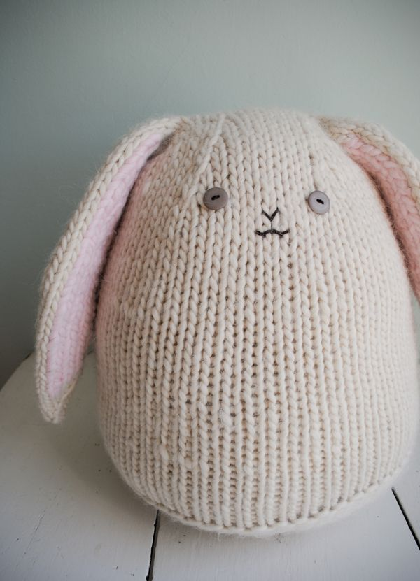 Beret Hat Knitting Pattern : Bunny Rabbit Knitting Patterns Purl bee, A bunny and Patterns