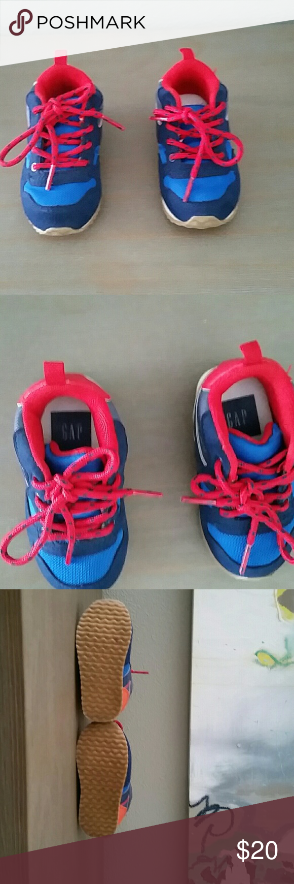 Baby boys Gap shoes New without box baby boy's gap sneakers | hiker midto|  night sky | size 6 | GAP Shoes