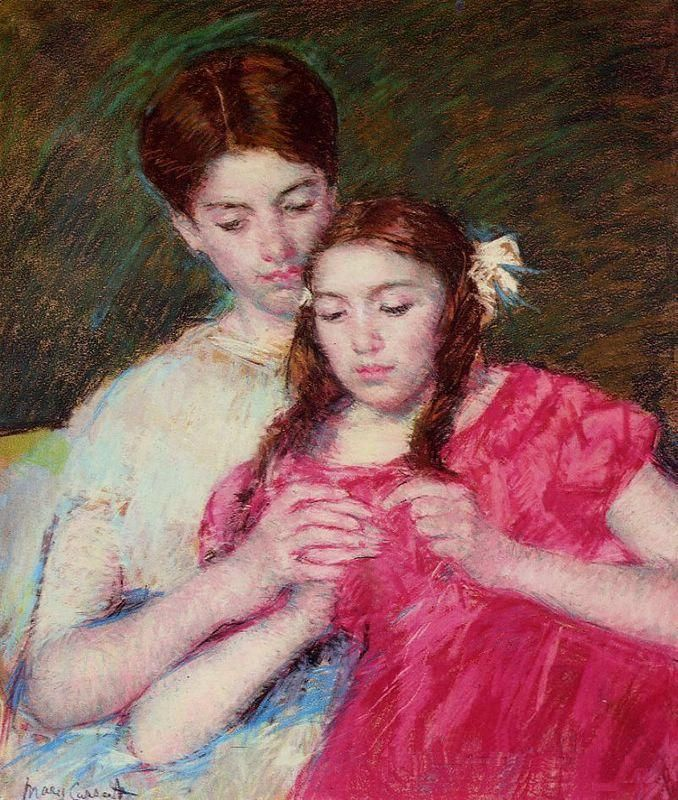 Mary_Cassatt_-_The_Crochet_Lesson_-_1913
