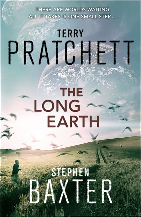 The Long Earth- by Terry Pratchett and Stephen Baxter. I love everything written by Pratchett!