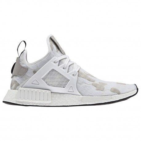 adidas originali nmd rt uomini scarpe bianco / bianco