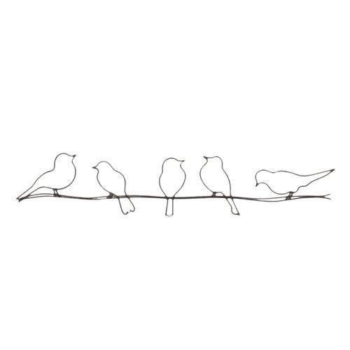 d coration murale birds alinea tableaux pinterest bordado dibujos y colibr s. Black Bedroom Furniture Sets. Home Design Ideas
