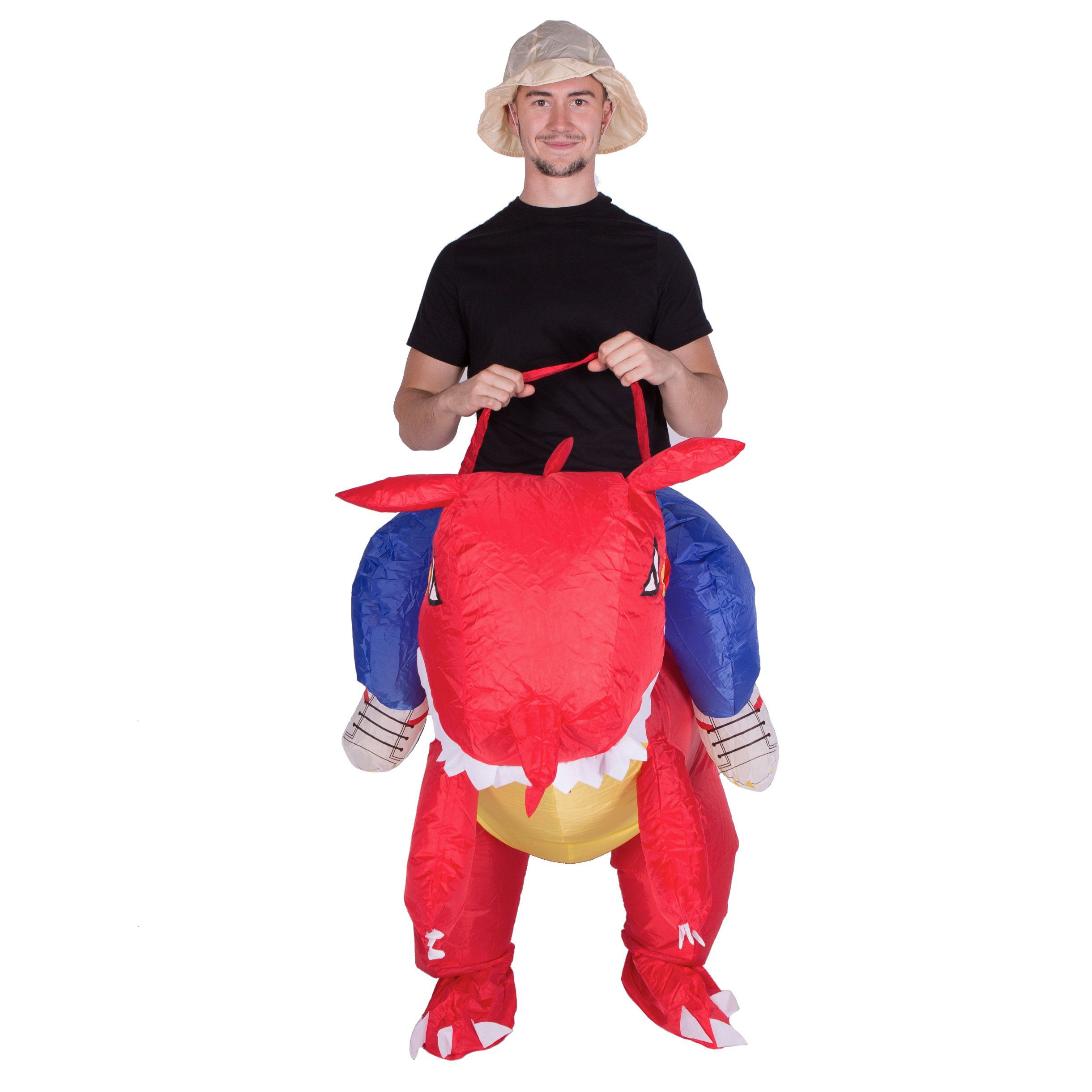 Adult Funny Inflatable Animal Duck Fancy Dress Costume Outfit Suit Halloween