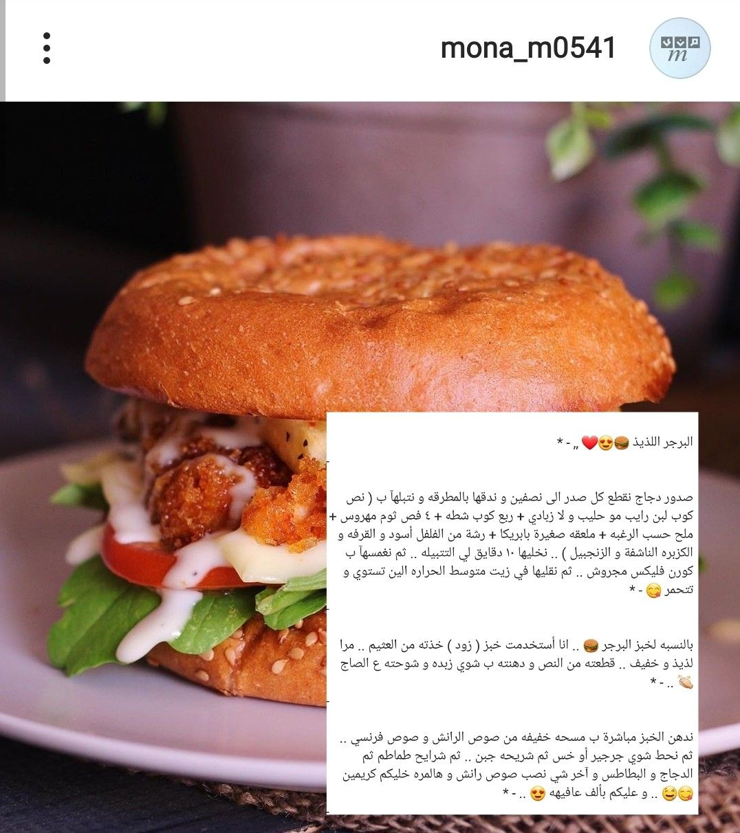 Pin By Hnoreen On Food طبخ Food Receipes Food Chicken Burgers