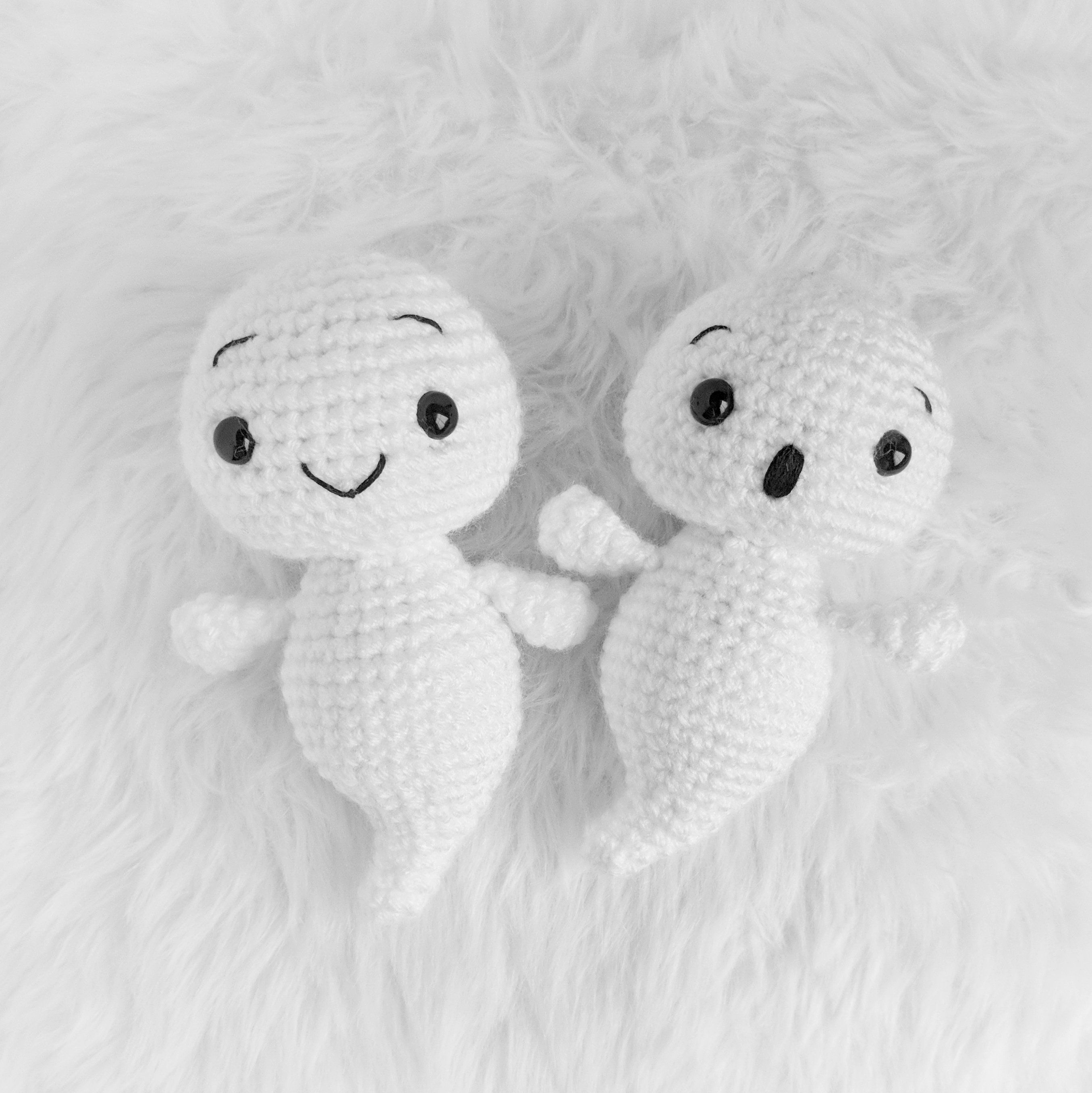 Halloween ghost amigurumi pattern | Amigurumi Space | 2712x2710