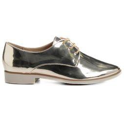 8aa452755 Oxford Bottero Liso Metalizado - Dourado | Shoes
