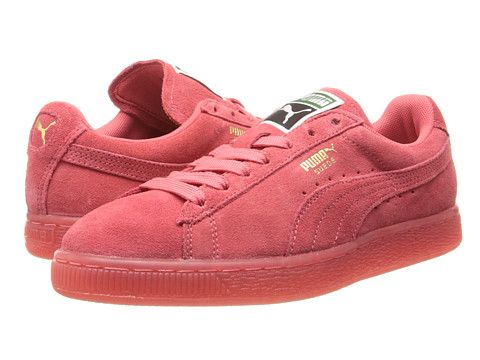 PUMA Suede Classic  I have these! They are more coral in person and  GORGEOUS (not to mention comfy!). Love my Pumas! 4bfb4cb9bb03