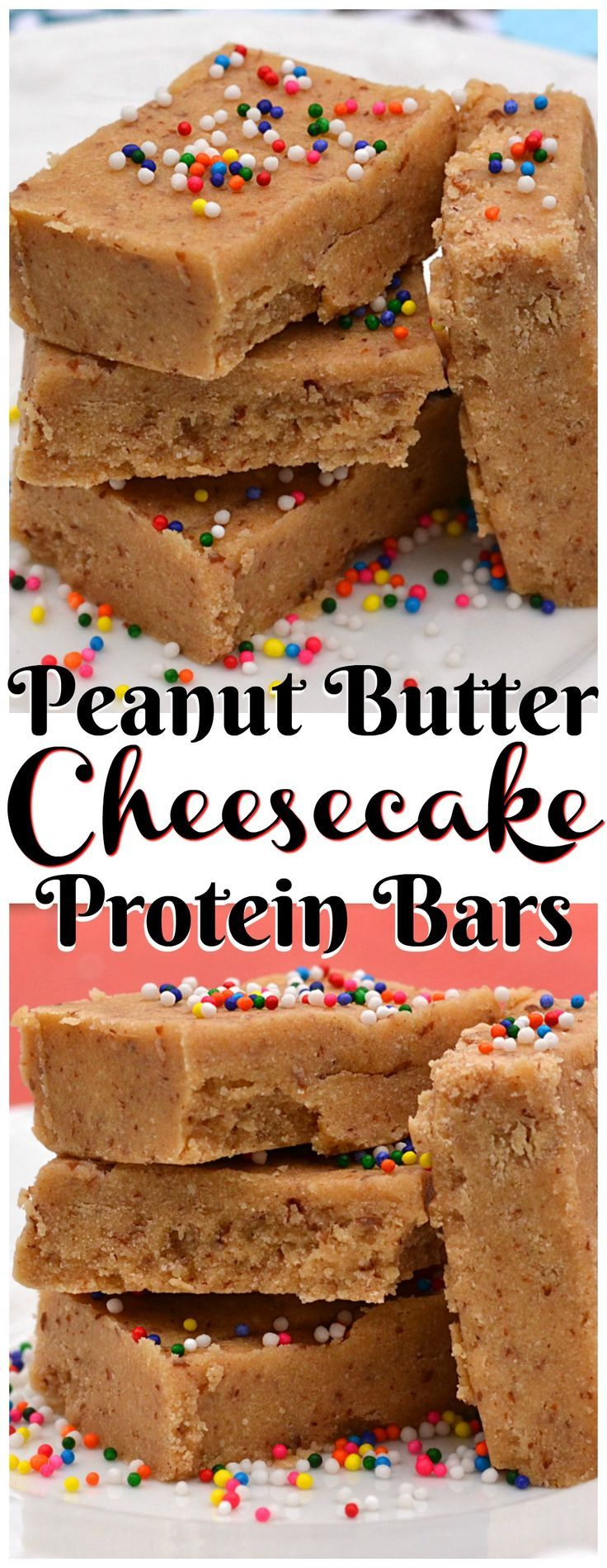 Low Carb Peanut Butter Cream Cheese Protein Bars - Crafty Cooking Mama
