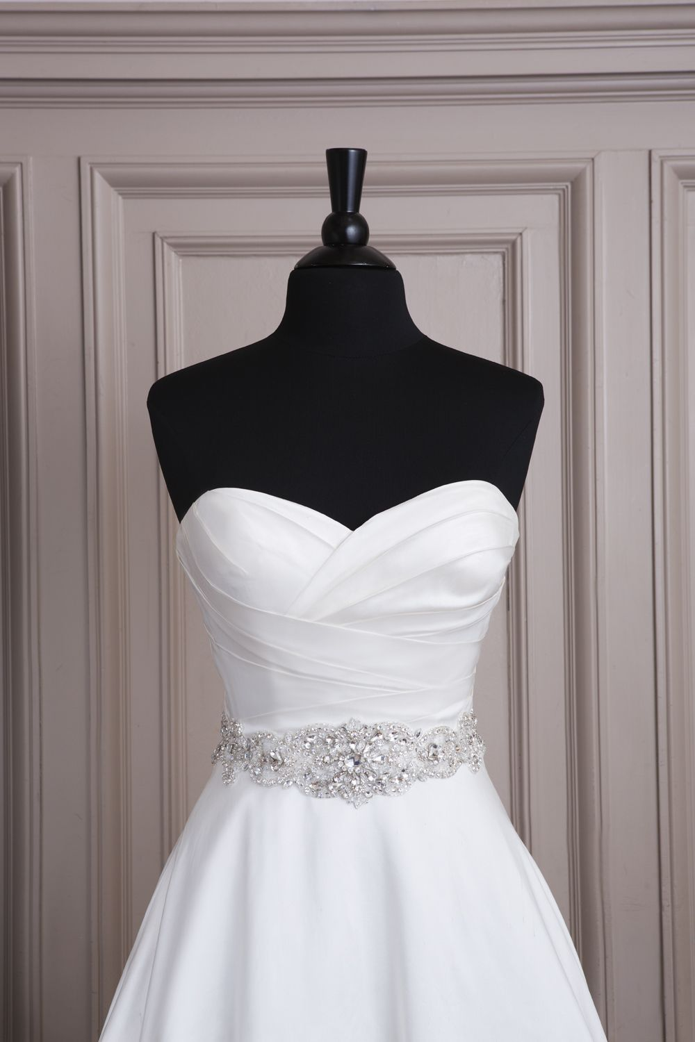 557906fceee Ambiance~Distinctive Weddings   Events Accessories that give your gown  panache~Justin Alexander wedding accessories style A066 All over beaded  belt with ...