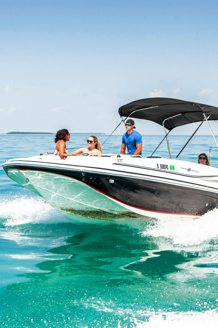Key west boat rentals by water adventure boat rental