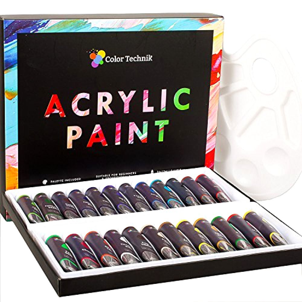 Acrylic Paint Set, Professional Artist Supplies, Acrylic