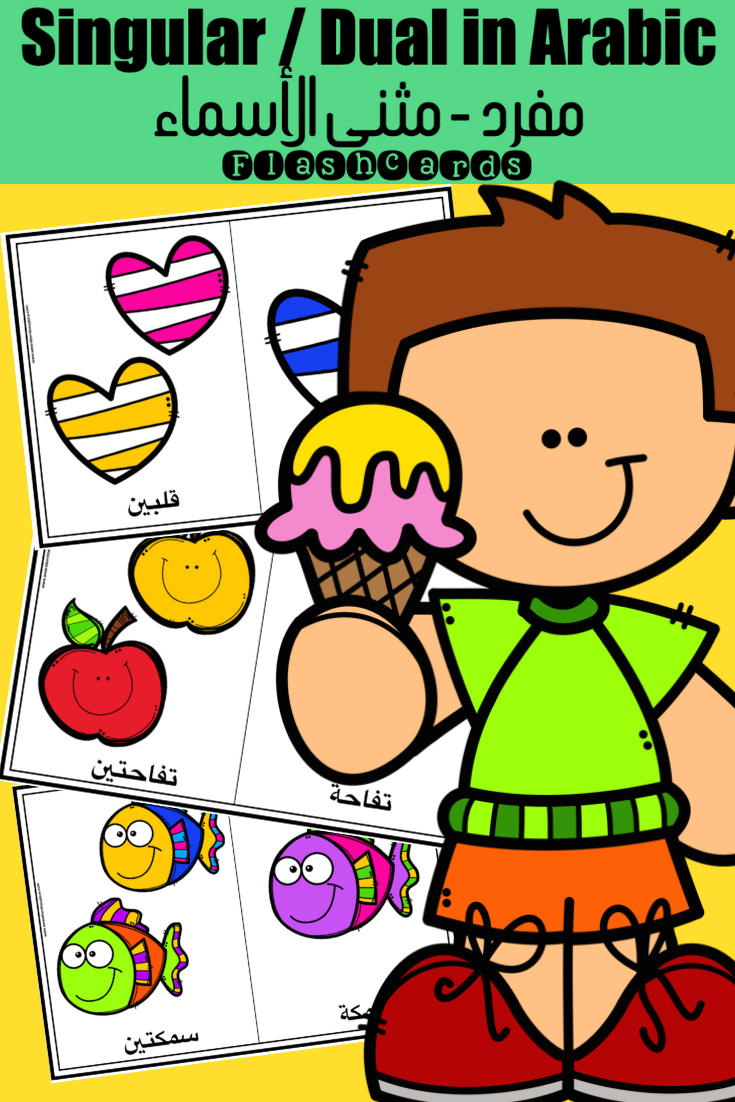 مفرد مثنى الأسماء Learn Arabic Language Book Activities Digital Activities