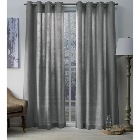 Grommet Top Curtains, Sparkle Curtain Panels