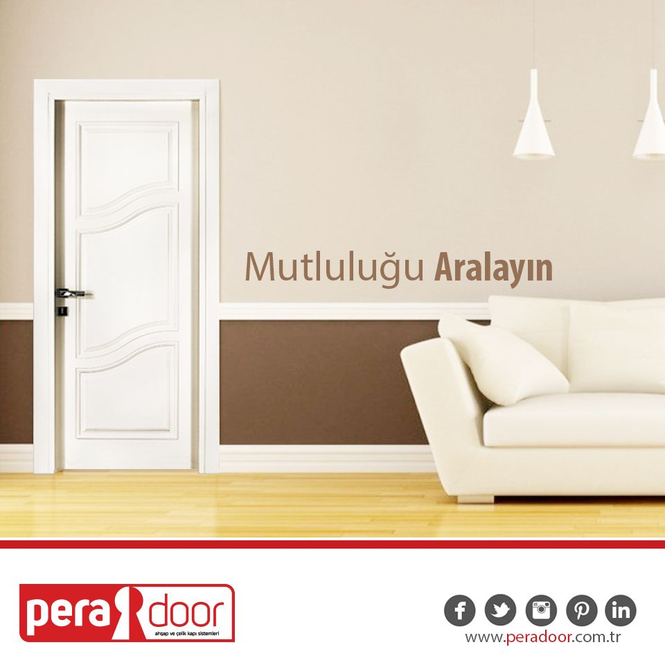 Estetik ve kalitenin adresi, Pera Door!  #PeraDoor #MutluluğuAralayın #kapı #ahşapkapı #çelikkapı #estetik #kalite