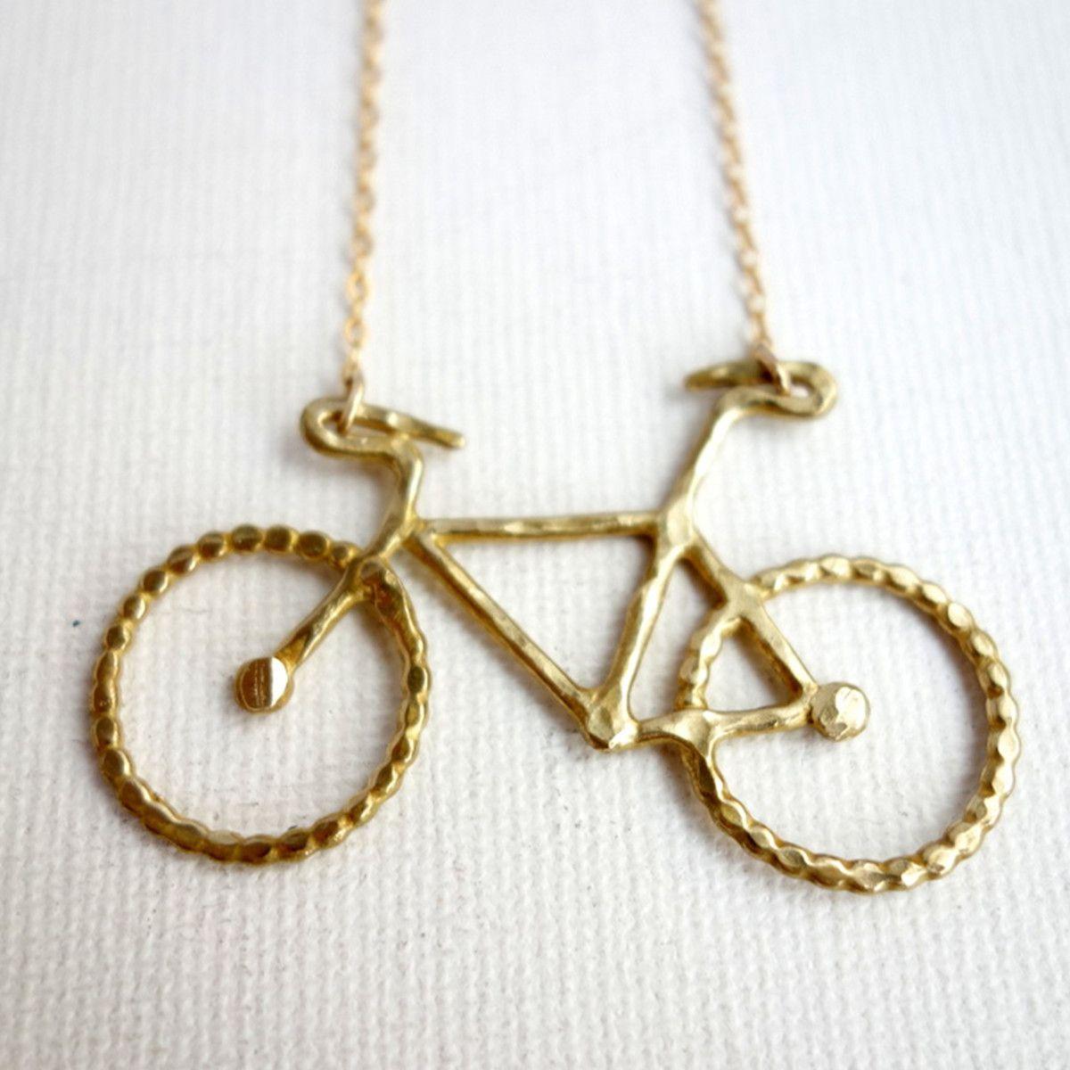 Le Petit Bike Necklace