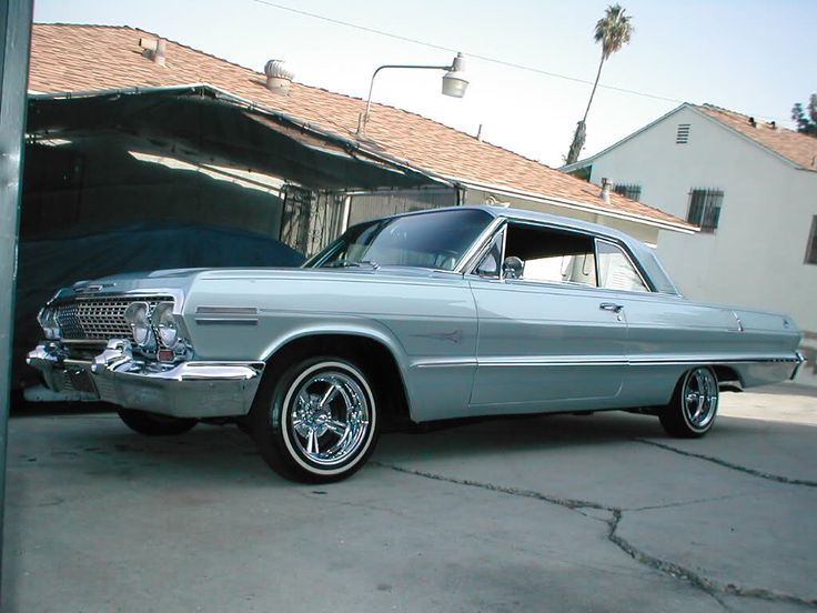 Sixty Three With Supreme Wheels Lowriders Chevrolet Impala 1960 Lowrider Cars
