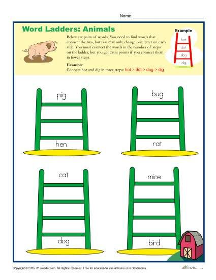 Pin On Spelling Word Study Words Their Way Word ladder worksheets
