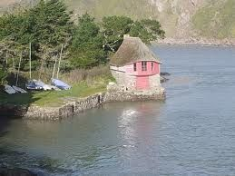 Bantham Beach Cute Little Boat House Great Britain United Kingdom Cool Places To Visit South Devon