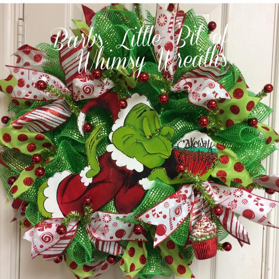 barbs little bit of whimsy wreaths etsyshop httpswwwetsy - Christmas Wreaths Etsy