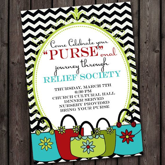 PURSE invitation personal progress invitation by AmysSimpleDesigns - best of invitation kick off meeting