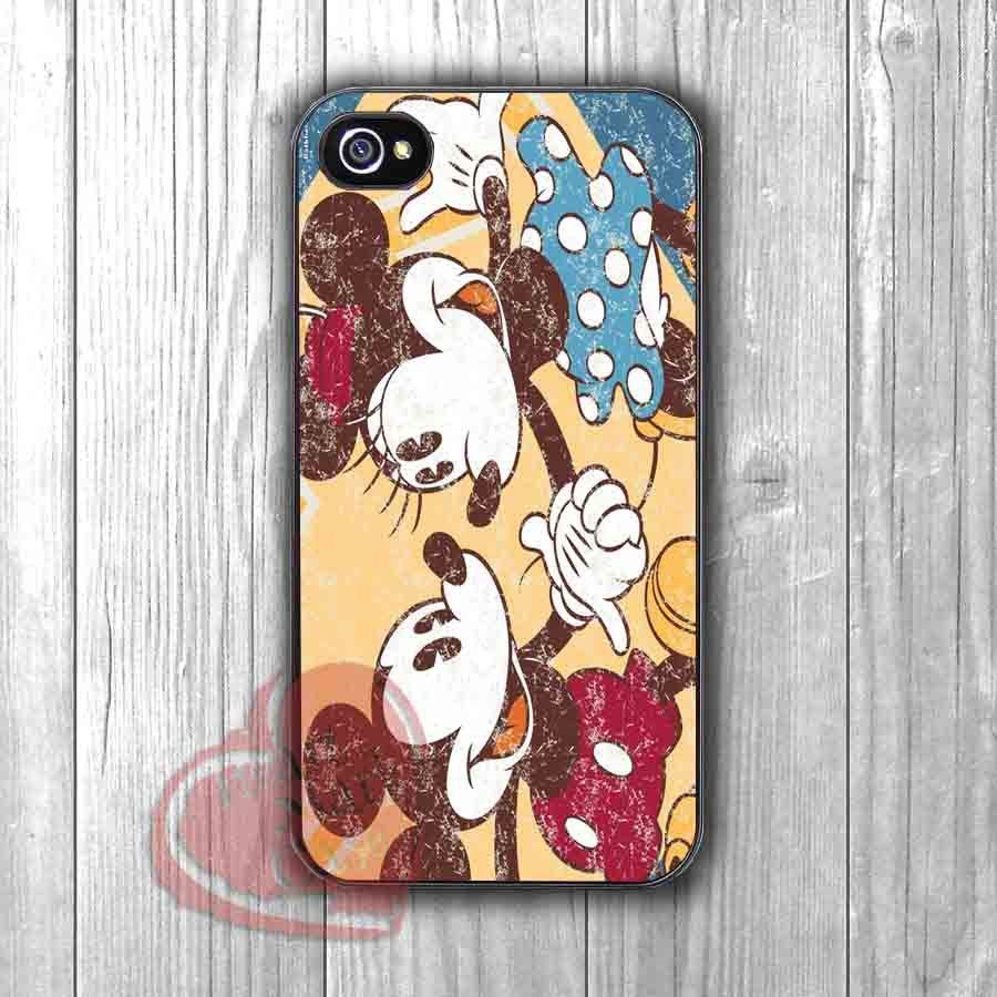 Cute Mickey Minnie - fzd for iPhone 6S case, iPhone 5s case, iPhone 6 case, iPhone 4S, Samsung S6 Edge