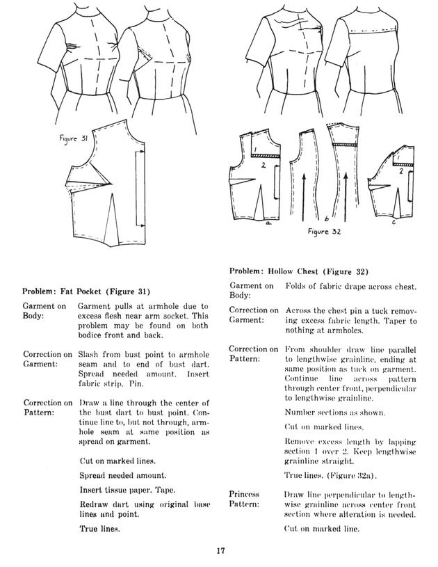 Vintage Pattern Alteration Book -- very good diagrams | Knowledge ...