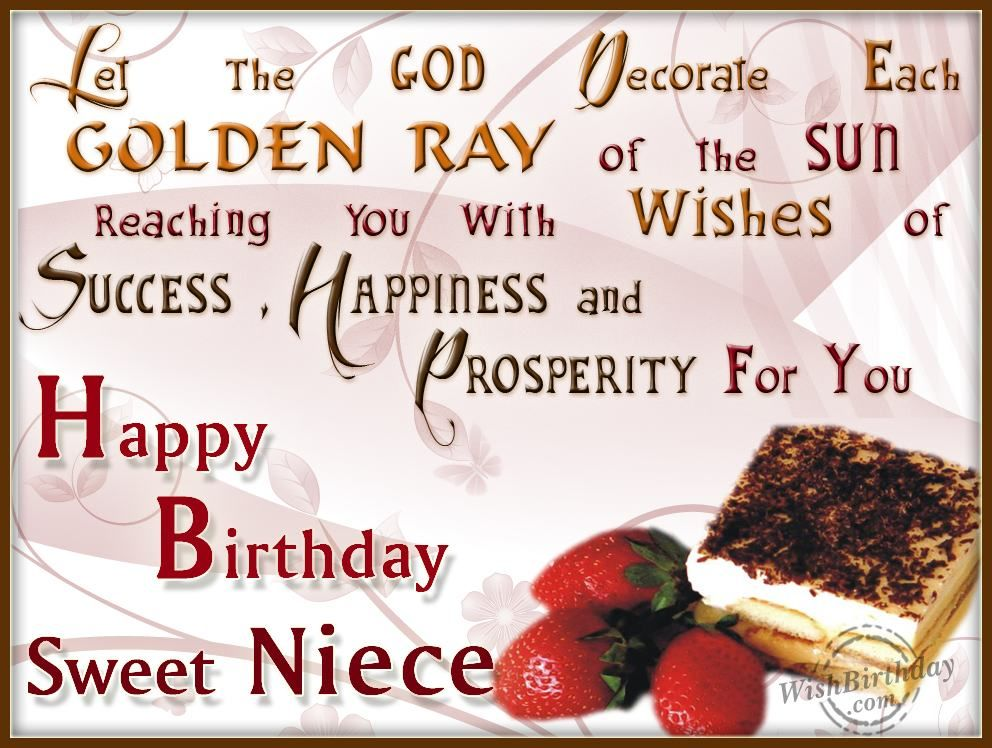 birthday wishes with butterflies – Niece Birthday Greetings