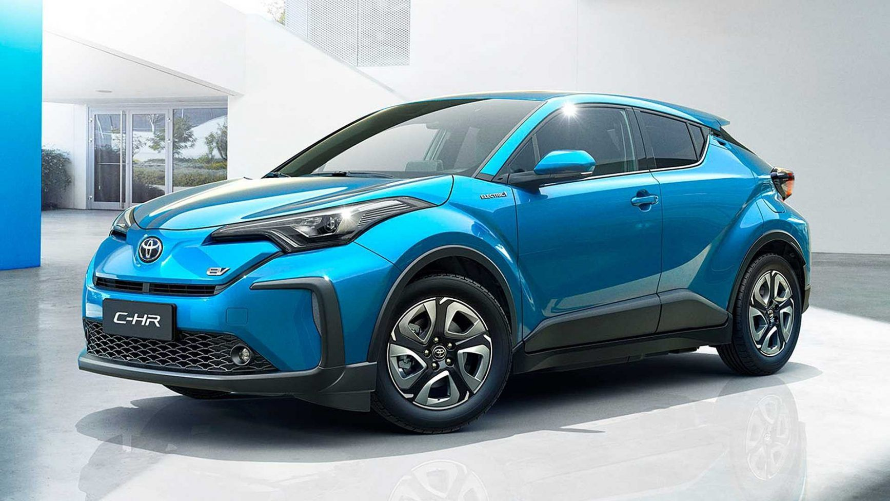 The new 2021 Toyota CHR should be a completely electric