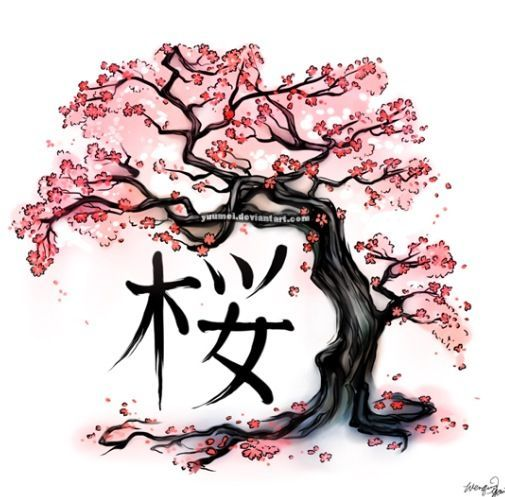 drawing cherry blossom tree template google search projects to