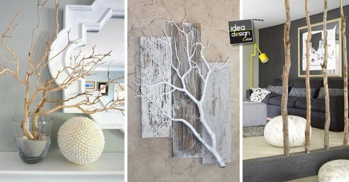 Idee Creative Casa : Decorazioni fai da te con materiali naturali idee per