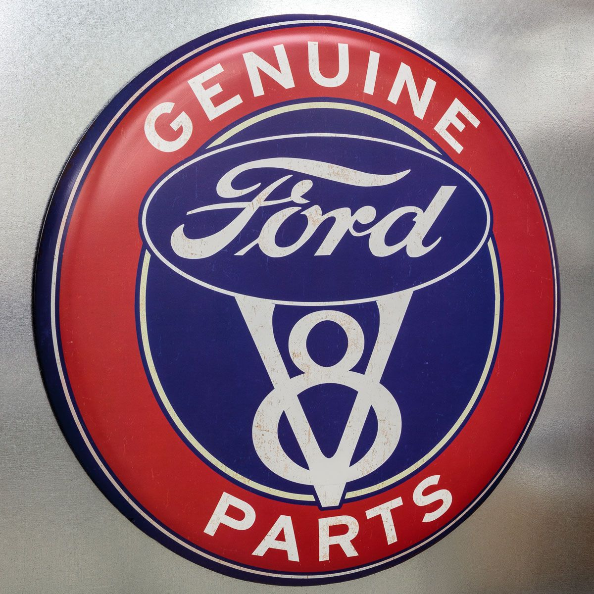 A First Rate Reproduction This Brand New Ford V8 Sign Brings An