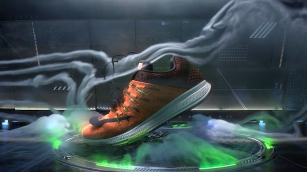 Brilliantly Cool Nike Spot Strips Its New Shoe To Reveal What It's Made Of - DesignTAXI.com