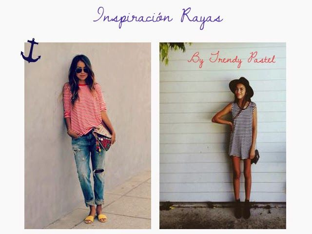 Trendy Pastel: Dreaming Spring: Inspiración Rayas