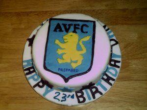 Aston Villa Cake Aston Villa Aston Cake