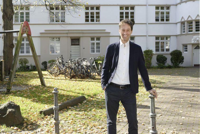 Juniorprofessor Dr Ing Jan Polivka Gesicht Neue Wege