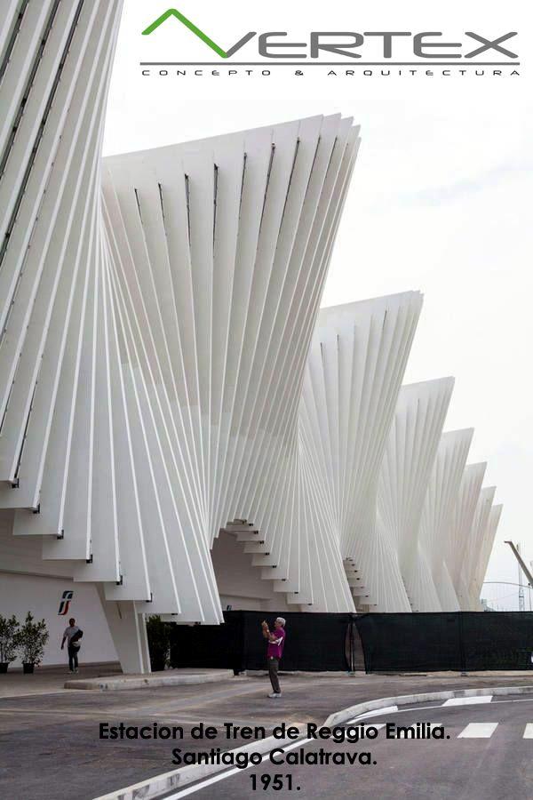 Estacion de Tren de Reggio Emilia. | Santiago Calatrava.