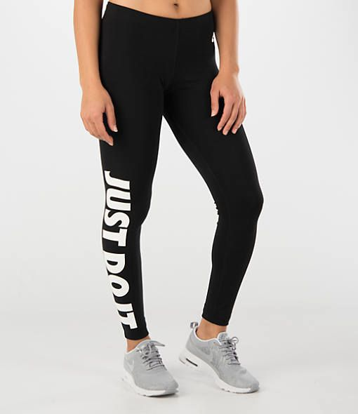 3341920dd1b57 NIKE LEG-A-SEE JUST DO IT LEGGINGS IN BLACK/WHITE | 2016 xmas in ...
