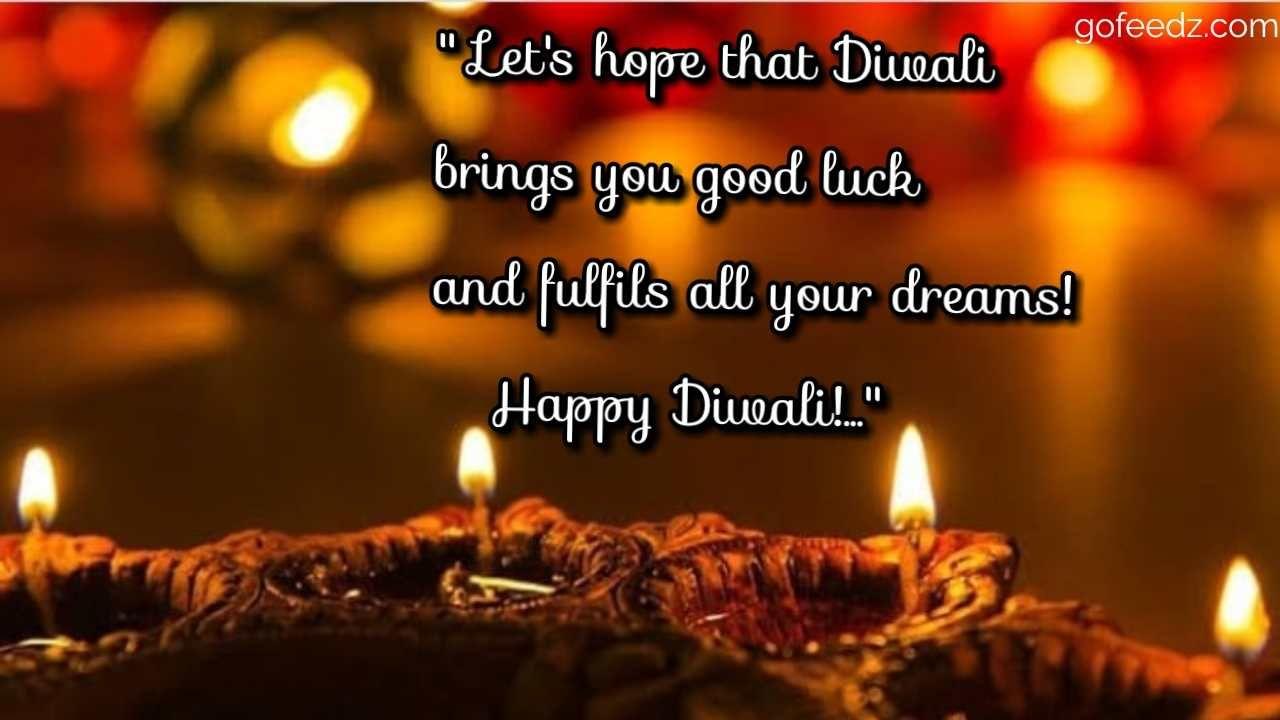 2019 Happy Diwali wishes Quotes | English | hindi » Gofeedz #diwaliwishes