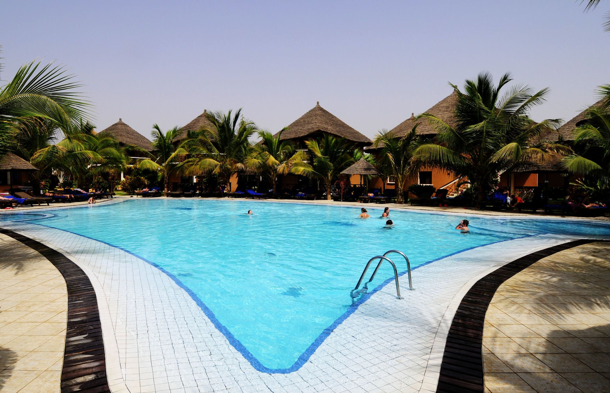 Lamantin Beach Resort Spa On Senegals Petite Cote Features Traditional African Cottages Made Of Mud
