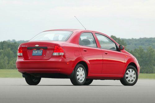 Chevrolet Aveo Ls Sedan Chevrolet Aveo Chevrolet Sedan