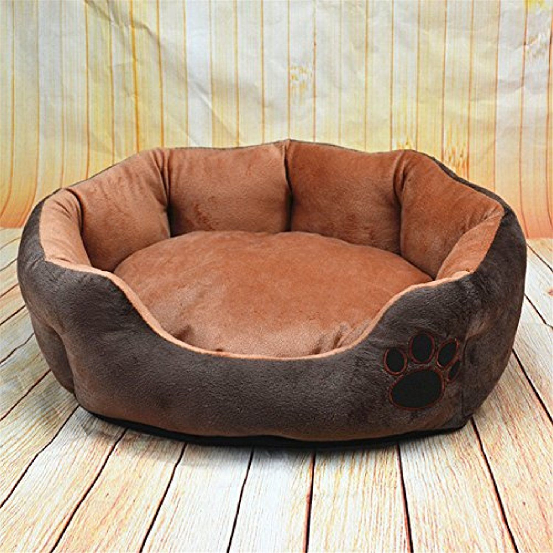 Bigbig Home Dog Paw Print Design Fluffy Material