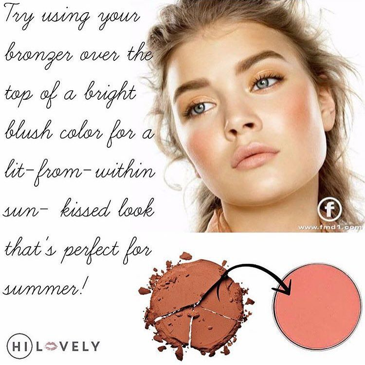 How to use bronzer and blush together for a sun kissed look all how to use bronzer and blush together for a sun kissed look all year long ccuart Choice Image