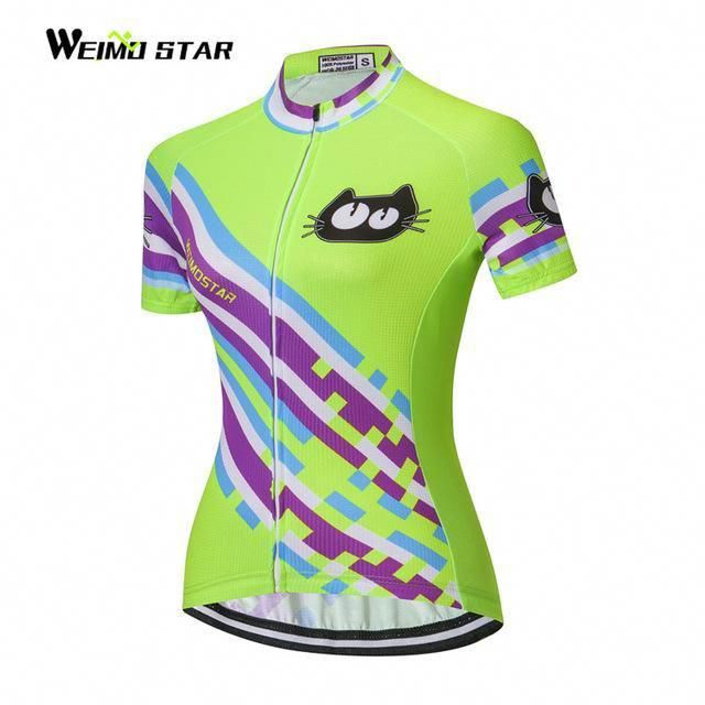 2018 Cycling jersey women bike jerseys MTB team clothing ropa ciclismo  bicycle jersey pink bike T-shirts short sleeve top red  bikeclothes 3fcb02c83